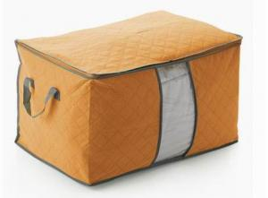 High Quality Home Storage Orange Non-Woven Organizer