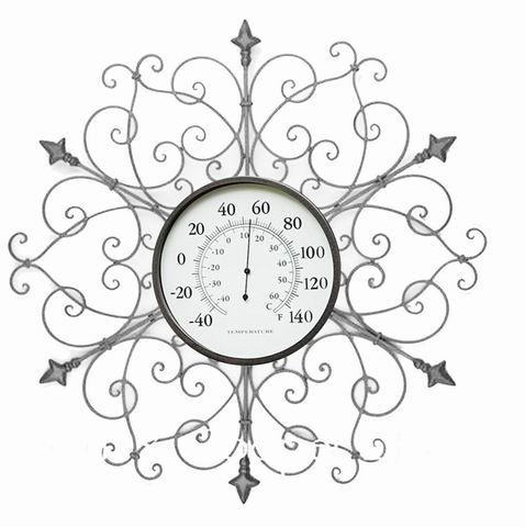 Antique Home Decor Metal Wall Art With Clock Wall Decoration
