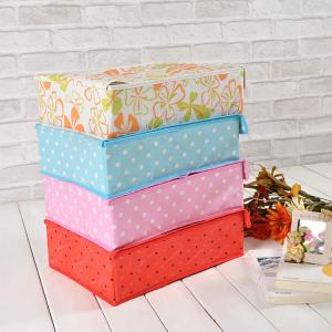 High Quality Home Storage 300G Non-Woven Bra Storage Box