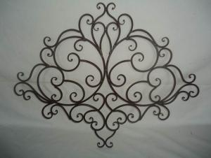 Hot Selling New Design Iron Craft Flame shape Wall Decoration
