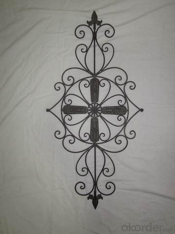 Hot Selling New Design Iron Craft The Cross Shape Wall Decoration