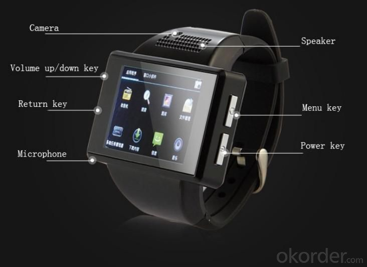Mobile Phones Android Smart Watch , WiFi, Bluetooth, APPS