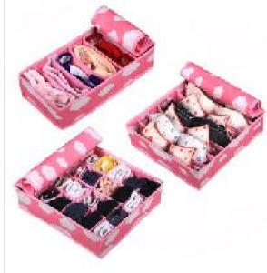 High Quality New Design Non-Woven Set Of Three Organizer