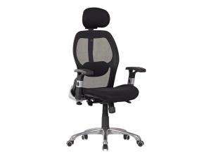 New Design Hot Selling High Back Mesh Chair with Headrest High Quality Office Chair