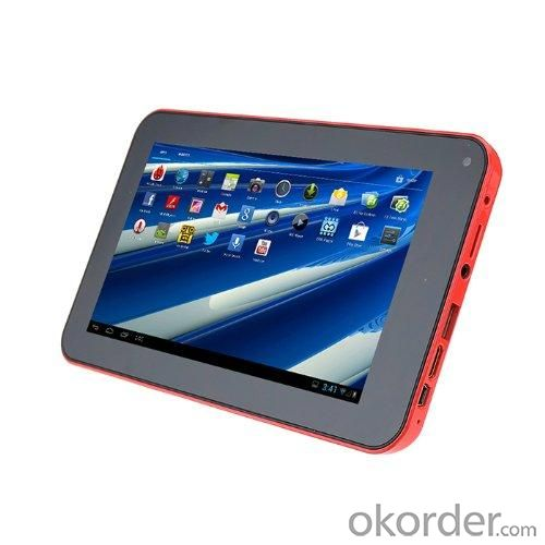 Dual Core Cortex A9 VIA8880 1.5GHz Android 4.2 Tablet PC MID With 7 Inch Capacitive Touchscreen HDMI WIFI 4GB Red