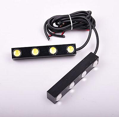 Auto Lighting System DC 12V 0.35A 1W Blue CM-DAY-014