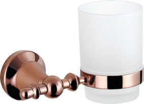 Hardware House Bathroom Accessories Rose Gold Series Tumbler Holder