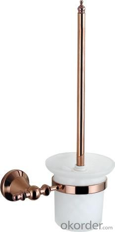 Hardware House Bathroom Accessories Rose Gold Series Toilet Brush Holder
