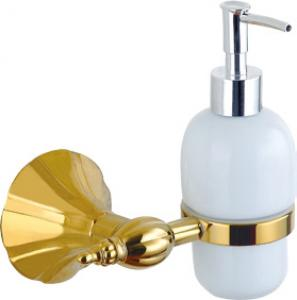 Hardware House Bathroom Accessories Rome Series Titanium Gold Soap Dispenser