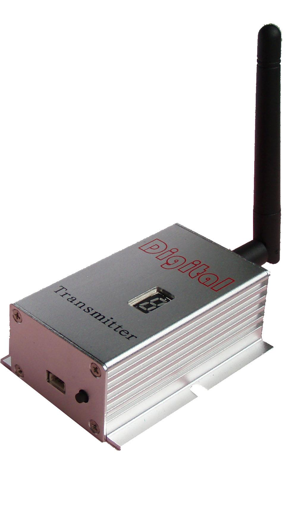 Wireless Transmitter and Receiver for 4CH 2000mW