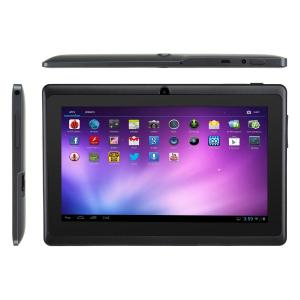 7 Inch Capacitive Touch Screen Android 4.2 Tablet PC With Dual Core ATM7021 1.3GHz 4GB WiFi Dual Camera Black
