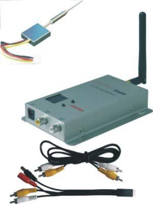 Wireless Transmitter and Receiver for 12CH mini 100mW