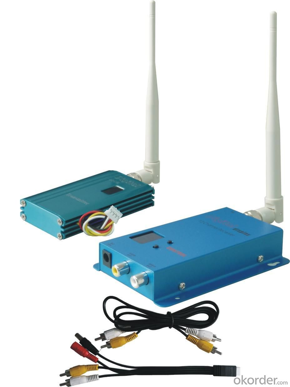Wireless Transmitter and Receiver for 12CH 1500mW