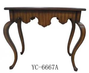 Home Furniture Classical Console Cabinet PU High Gloss MDF And Birch Solid