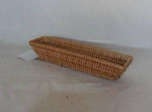 Home Storage Willow Basket Natural Willow Rectangle Bread Tray