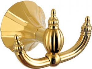 Hardware House Bathroom Accessories Rome Series Titanium Gold Robe Hook
