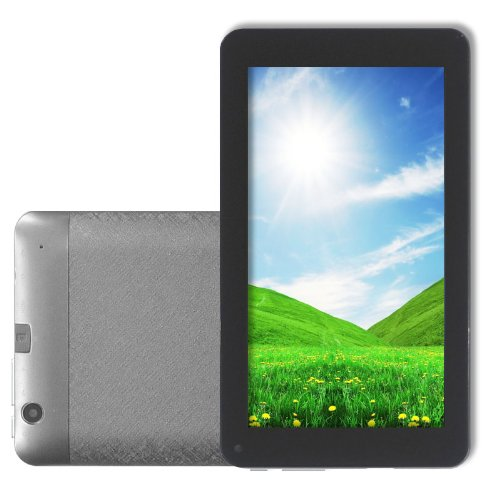 Dual Core A9 Processor 7 Inch Android 4.2 Tablet PC MID With VIA8880 1.5GHz 512MB 4GB WiFi Dual Camera Silver