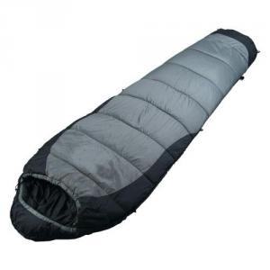 High Quality Outdoor Product Nylon Ripstop Gray And Black Sleeping Bag