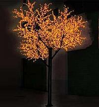 LED Tree Light Cherry String Christmas Festival Light Red/Yellow 415W CM-SL-6144L1