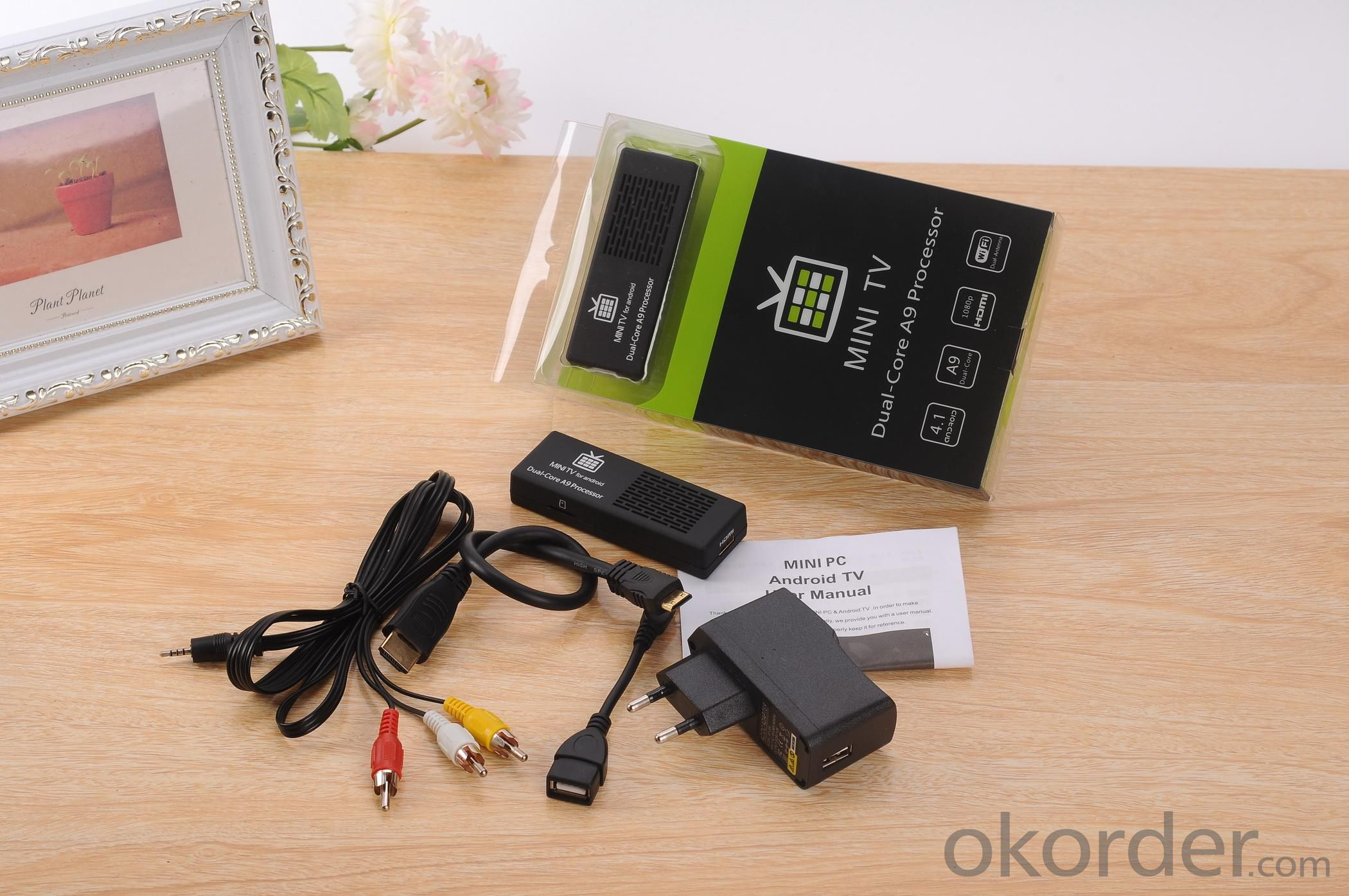MK808C Dual Core A20 Android 4.2 TV BOX Rockchip Mini PC Smart TV Stick