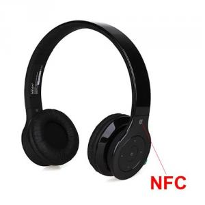 MINIX NT-1 High Quality Wireless Bluetooth Stereo Subwoofer Headset Headphone With NFC Black