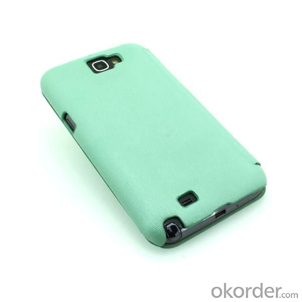 Wallet Pouch Luxury PU Leather Case Cover for Samsung Galaxy Note 2/3 Light Blue
