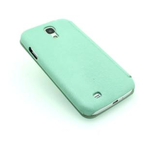 Green Luxury PU Leather Case For Samsung Galaxy S4 (I9500) Wallet Pouch Cover