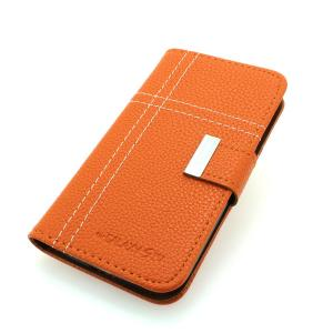 Luxury PU Leather Wallet Pouch Stand Case Cover For Samsung Galaxy S4 (I9500) Orange