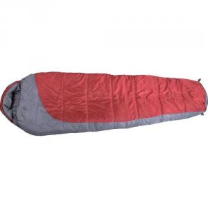 High Quality Outdoor Product Nylon Red And Gray Sleeping Bag