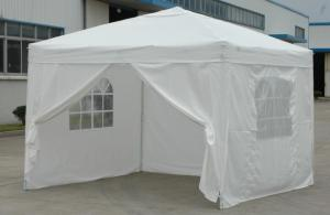 Hot Selling Outdoor Market Umbrella White Full Iron Folding Tent