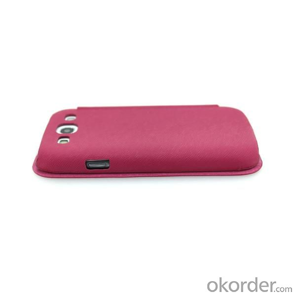 Rose Wallet Pouch Case For Samsung Galaxy S3 (I9300) Luxury PU Leather Cover