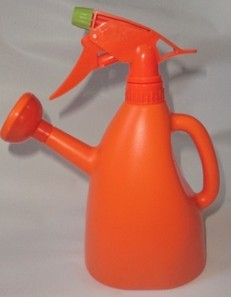 High Quality Outdoor Product PE Orange Watering Can L