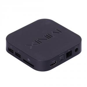 MiniX Neo X7 Mini TV Box Android 4.2.2 Quad Core 2GB 8GB Bluetooth WIFI RJ45 IR Remote Control Black
