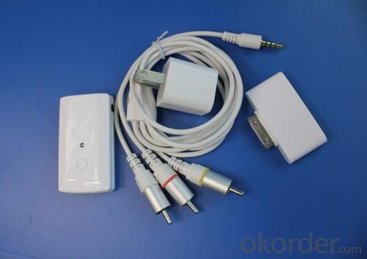 Apple Wireless Video Cable iPhone IPAD iPhone3G/3GS iPod touch iPod classic iPod nano