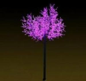 LED Tree Light Peach Flower String Christmas Festival Decorative Light Pink/Purple/RGB 415W CM-SLP-6912L3