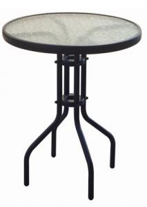 Hot Selling Outdoor Furniture Classical High Quality Steel & Glass Table