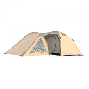 High Quality Outdoor Product 190T Polyester Beige Family Tent