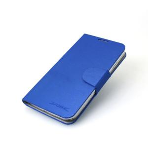 Hot sale Luxury PU Leather Case Cover for Samsung Galaxy S4 (I9500) Blue