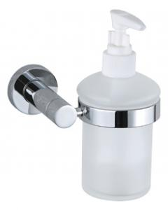 Luxury Bath Accessories Modern Chrome-plated Soap Dispenser