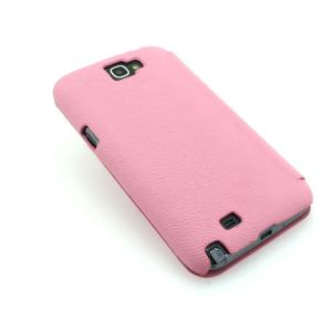 Wallet Pouch Luxury PU Leather Case Cover for Samsung Galaxy Note 2/3 Pink