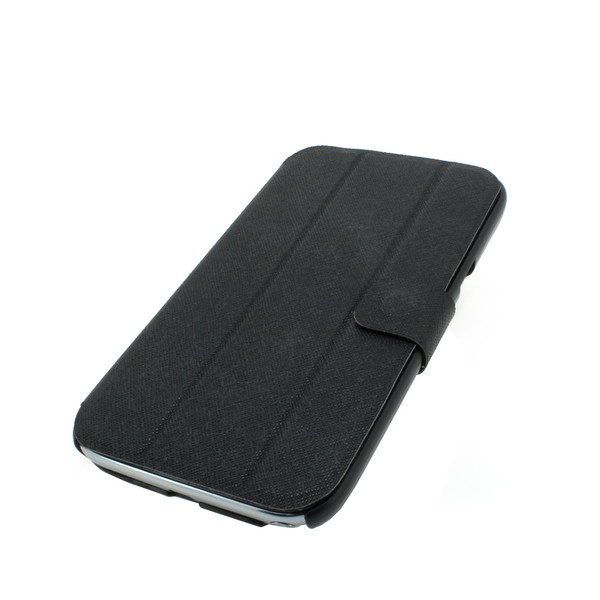 Luxury PU Leather Stand Case Cover for Samsung Galaxy Note 2/3 Black