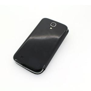 High Quality For Black Samsung Galaxy S4 I9500 Horizontal Flip Case S View Open Window Cover Case Auto Wake-up Awake