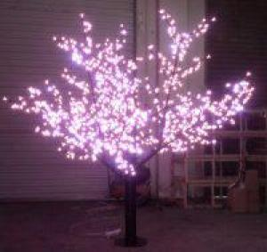 LED Tree Light Peach Flower String Christmas Festival Decorative LightRed/Yellow 52W CM-SLP-864L1