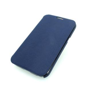Wallet Pouch Luxury PU Leather Case Cover for Samsung Galaxy Note 2/3 Dark Blue