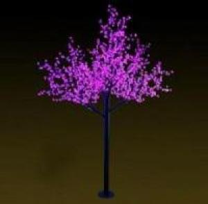 LED Tree Light Peach Flower String Christmas Festival Decorative LightRed/Yellow 139W CM-SLP-2304L1
