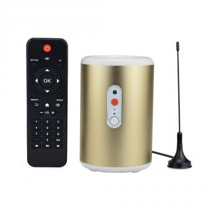 Q8 Andriod TV Box Quad Core Android 4.2.2 OS Mini TV BOX 2G 8G 2.0MP Camera Mic Bluetooth Golden