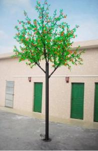 LED Fruit Tree String Christmas Festival Light Green Leaves+ Ograne 208W CM-SLF-3456Lo