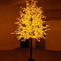 LED Artifical Maple Leaf Tree Lights Flower String Christmas Festival Decorative Light Red/Yellow 187W CM-SLGFZ-3112L1