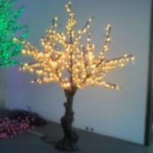 LED Artifical Real Cherry Tree Lights Flower String Christmas Festival Decorative Light Blue/Green/White 44W CM-SLGFZ-720L2