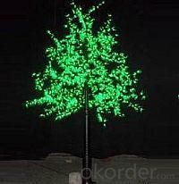 LED Artifical Maple Leaf Tree Lights Flower String Christmas Festival Decorative Light Red/Yellow 78W CM-SLGFZ-1296L1